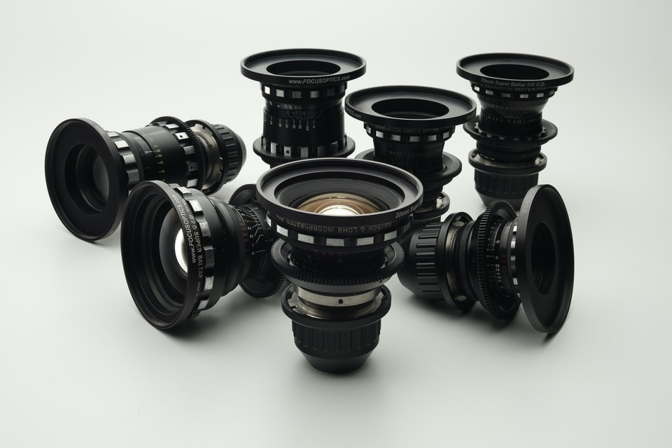 Bausch and Lomb 'Super Baltar' Lens Set