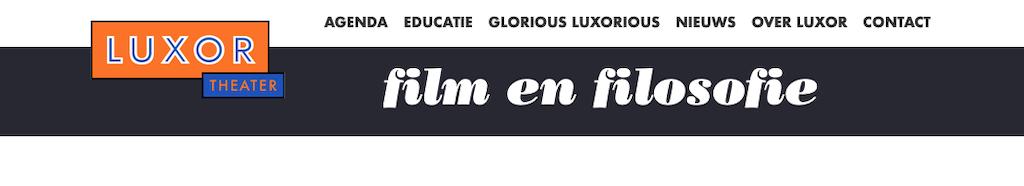 Film & Filosofie@Luxor
