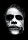 The Three Jokers - Joker - Heath Ledger from The Dark Knight (2008)