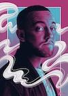 Musician Portraits - Mac Miller Tribute Portrait