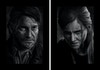 The Last of Us Part II - Character Portraits - Joel & Ellie  These portraits were initially conceived as a pair, Joel & Ellie's relationship is the heart of The Last of Us. It wasn't until after the second game was released and I had finished it that I went back and added Abby.  The Last of Us Part II is one of the best games I have ever played, and definitely one of the best narratives in video games. It's impressive on every front, be it technical or in the bold themes it tackles. A fitting and poignant follow up to the legendary first game.