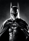 Batman Illustrations - Batman Returns  Original greyscale drawing, made in Procreate.