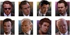 Reservoir Dogs - The main character portraits that were featured along the middle of the title block were all painted on one canvas and then tidied up with frames added in Photoshop. The characters who are assigned colours in the film are represented by that colour behind them. For Nice Guy Eddie and Joe Cabot, who do not have colour codenames, I opted for purple for Eddie as inspired by his tracksuit that he wears in the film and red for Joe as it was a colour not yet represented that I felt would tie the palette together.