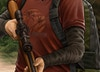 The Last of Us - Detail shot - Ellie's shirt and rifle