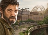 The Last of Us - Detail shot - Joel, with the Pittsburgh bridge and highway scenery