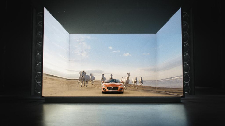 Jaguar F-TYPE - Just Imagine - Directed by William Bartlett