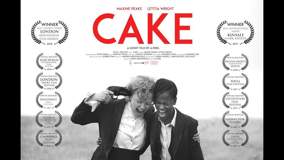 CAKE - short film starring Maxine Peake & Letitia Wright
