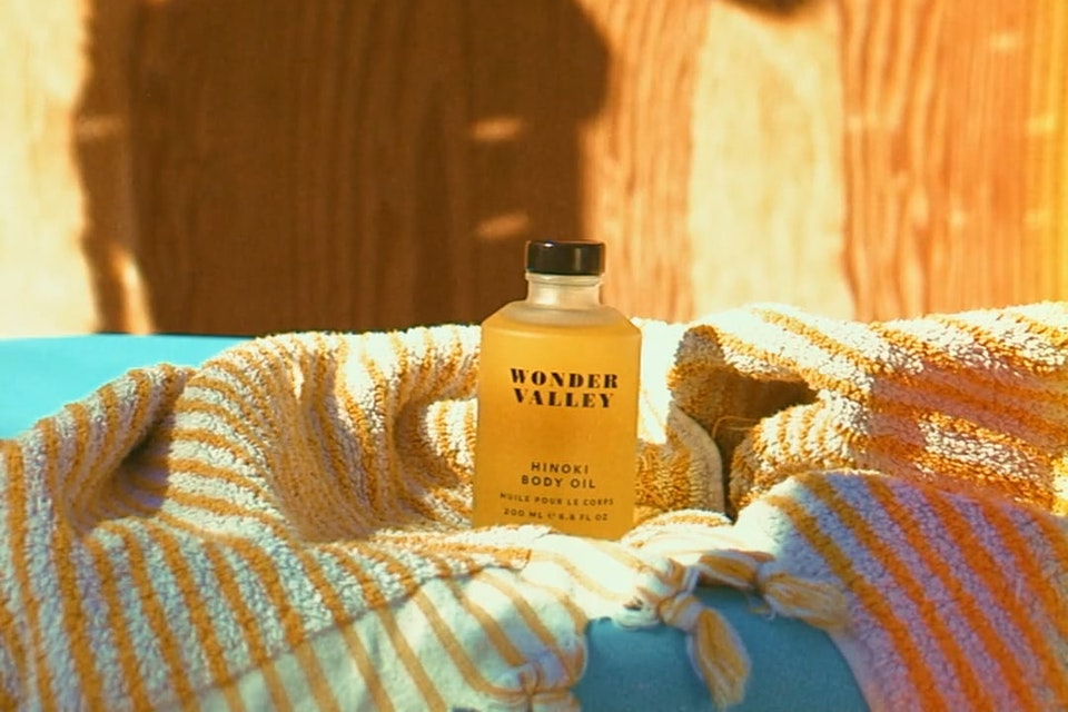 WONDER VALLEY - Make something as ordinary as moisturizing your skin feel otherworldly with our Hinoki Body Oil.