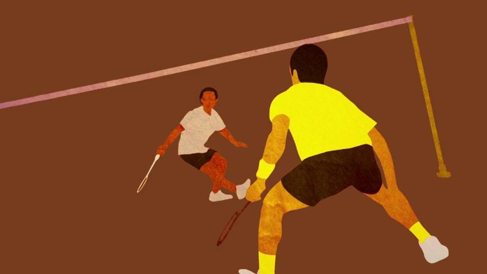 J SPORTS badminton opening