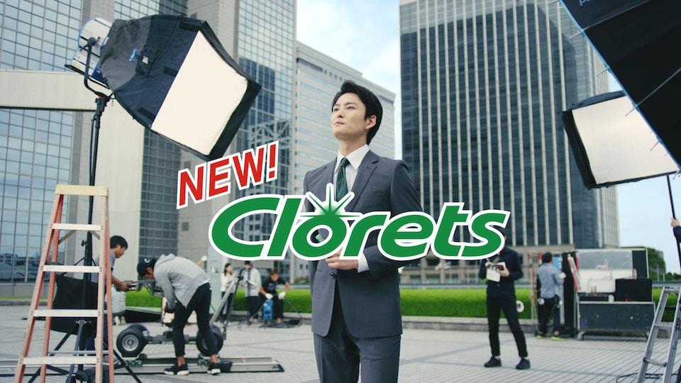 Clorets TVCM