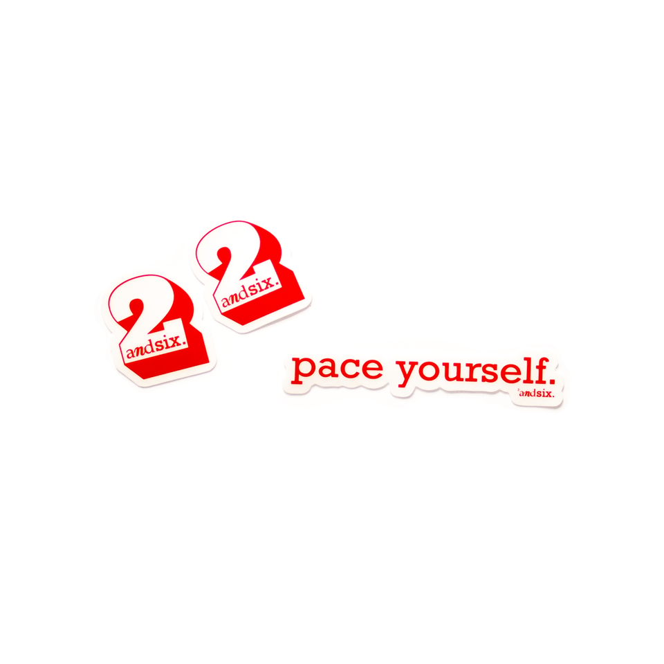 'Pace Yourself'