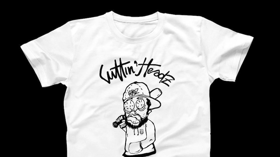 "CuttinHeadz ""Heavy Hitters"" T-Shirt"