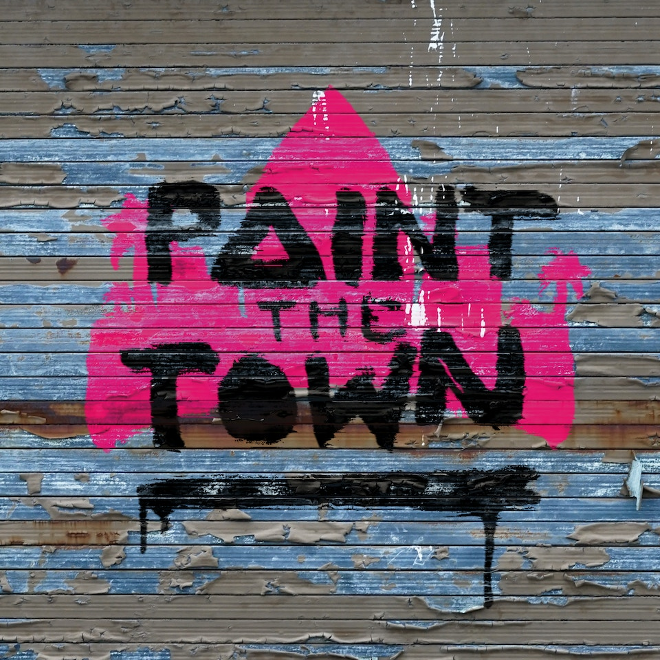 'Paint The Town' Logo