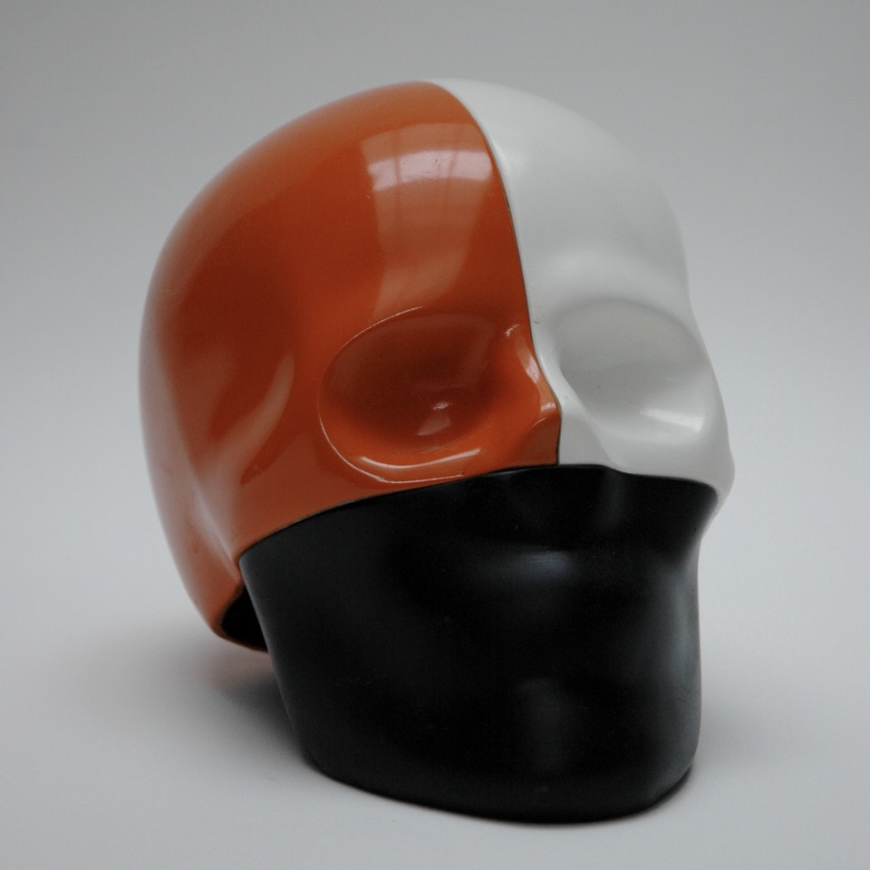 Richard Mackness - Sectioned (Black ,Orange and White)