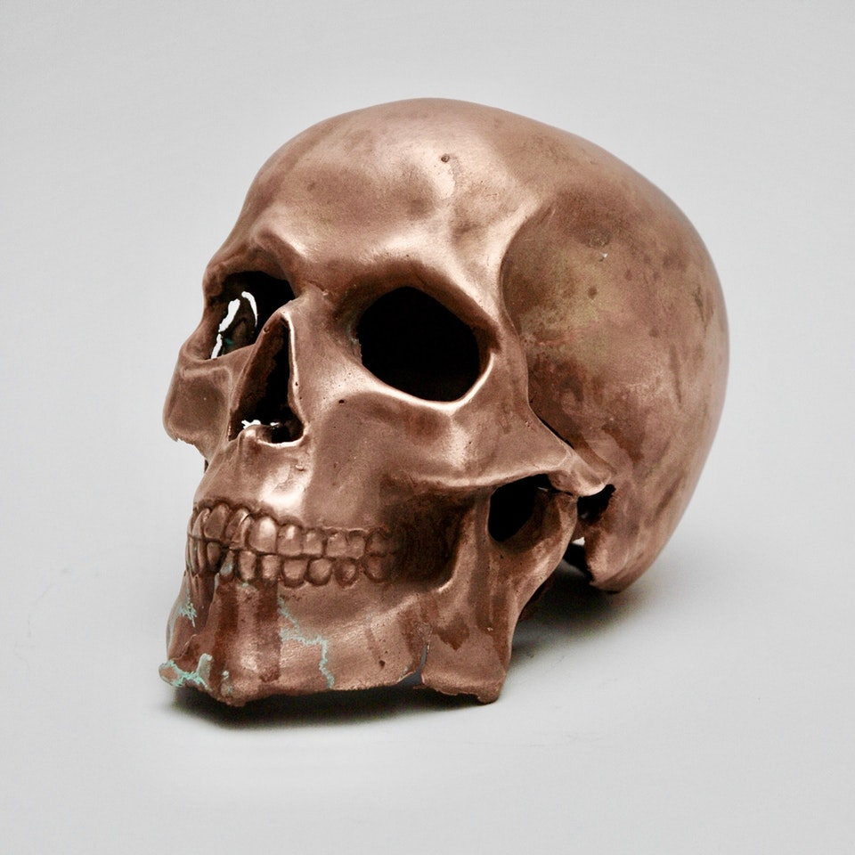 Richard Mackness - Copper Skull
