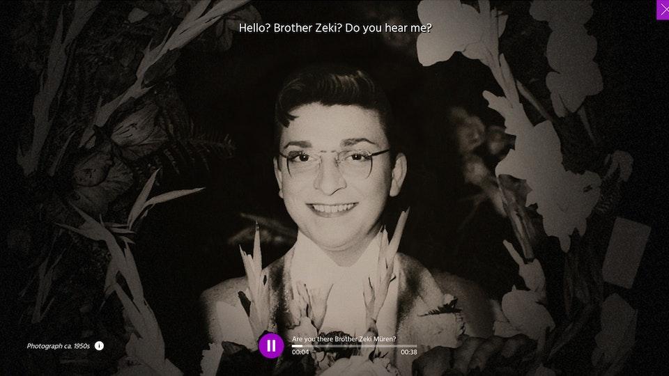 Zeki Müren Hotline   Interactive Documentary
