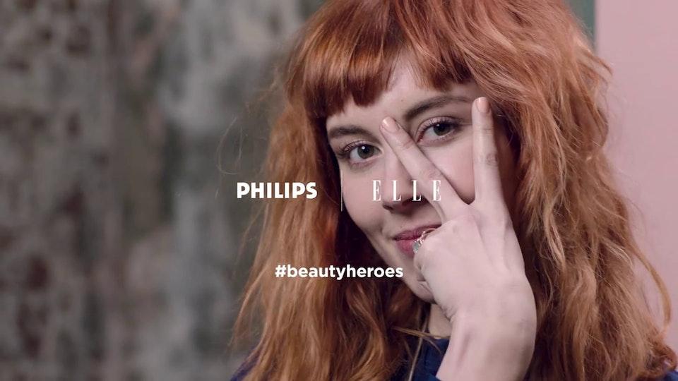 Clint Trofa - Elle/Philips #BeautyHeroes