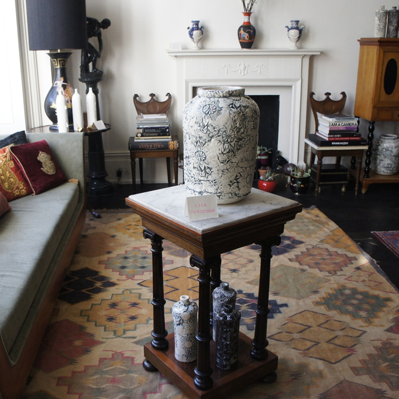 'Something old, something new' pop up exhibition at collectors home