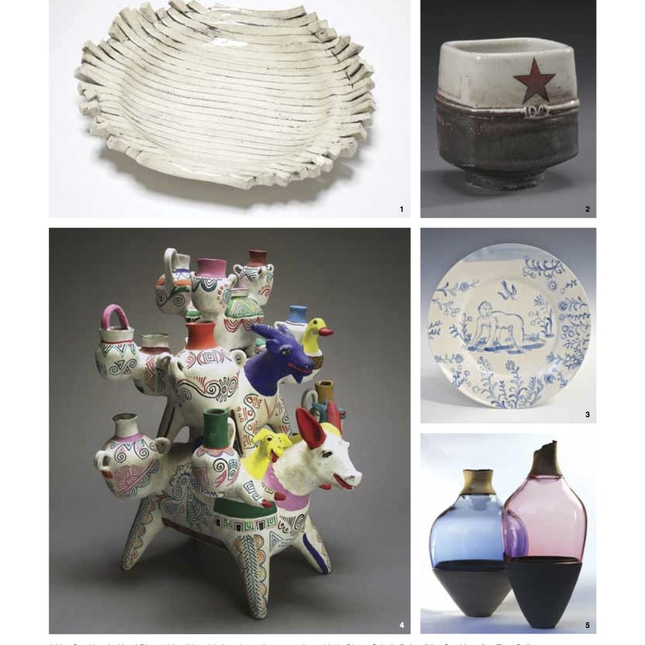 Ceramics Monthly 'Exposure' January 2014 p14