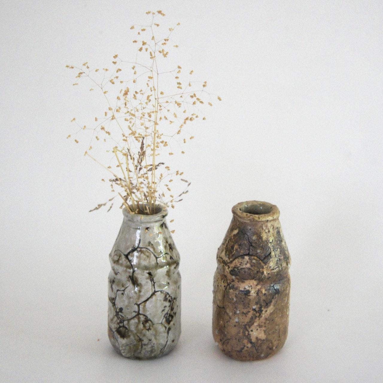 Shigaraki Small bottles