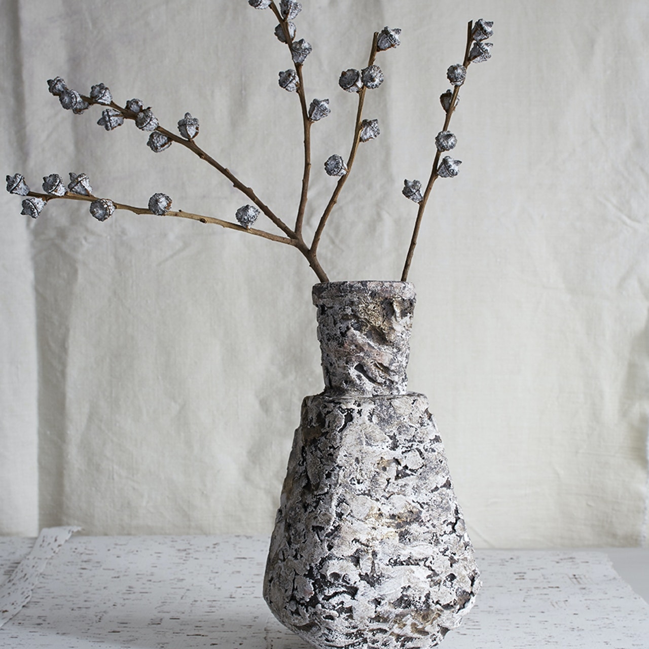 Paint mark vase