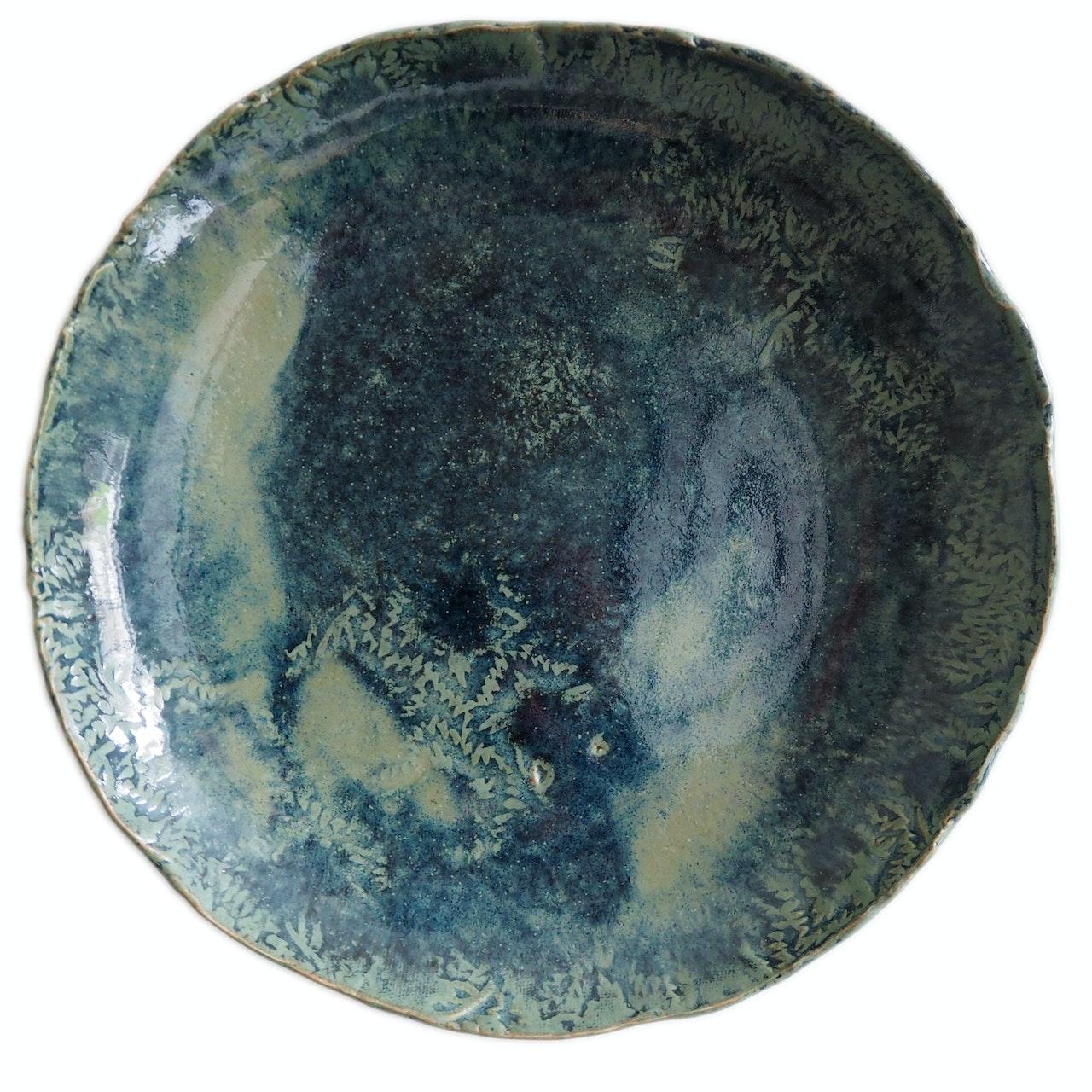 Copper leaf plate