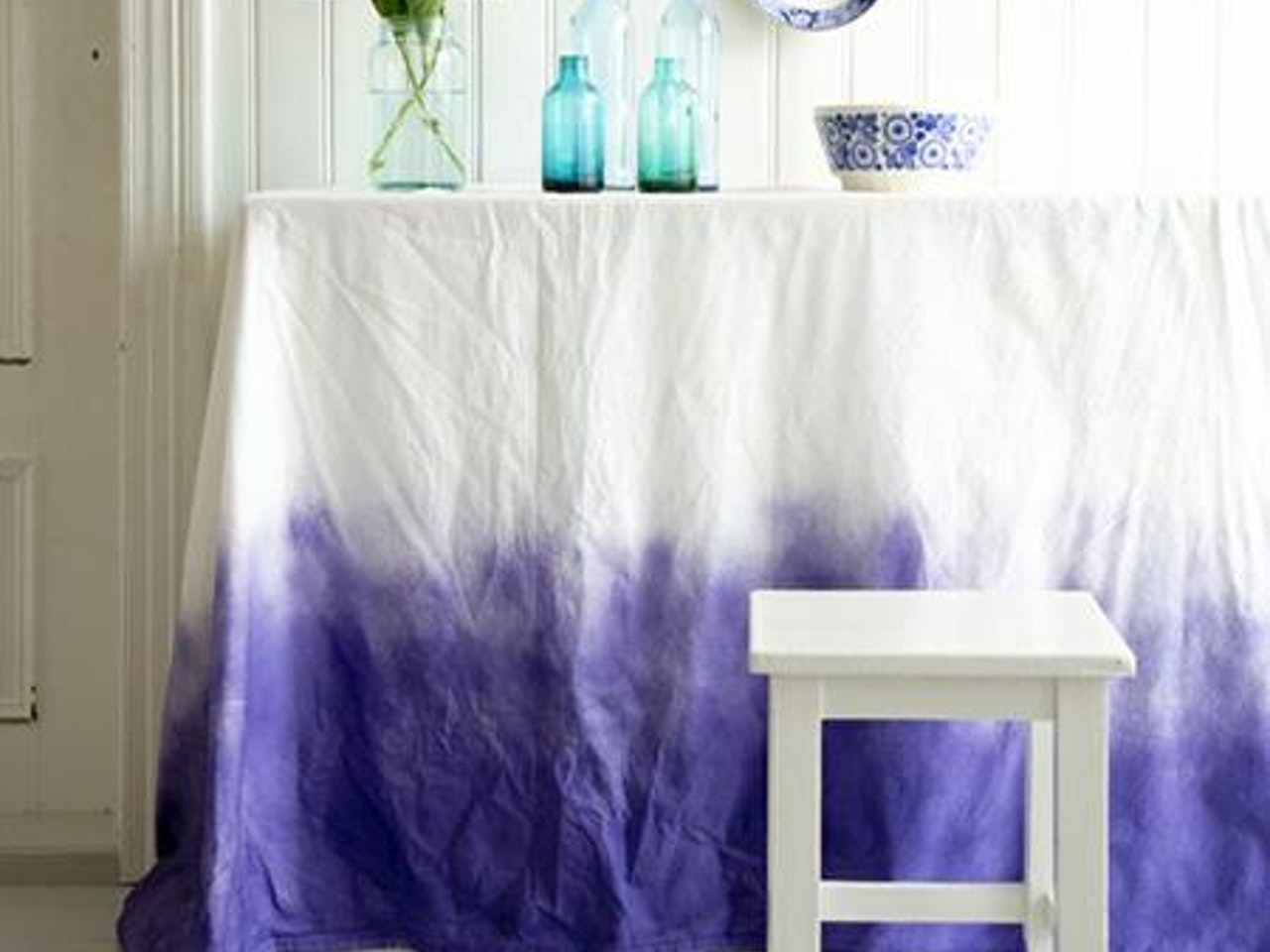 Ombre effect in interiors