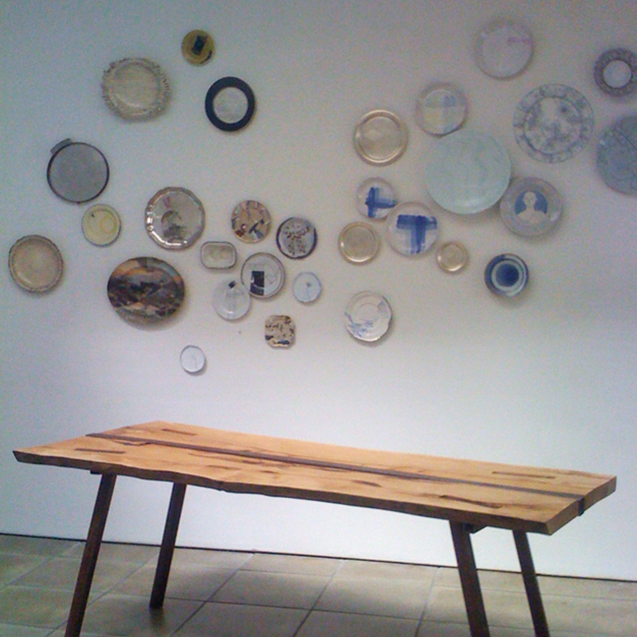 'From table to wall...' exhibition