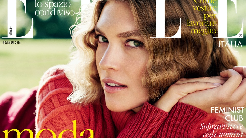 Elle Italia - Arizona Muse