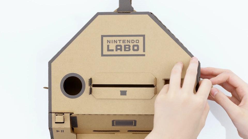 YUJI HARIU - First Look at Nintendo Labo