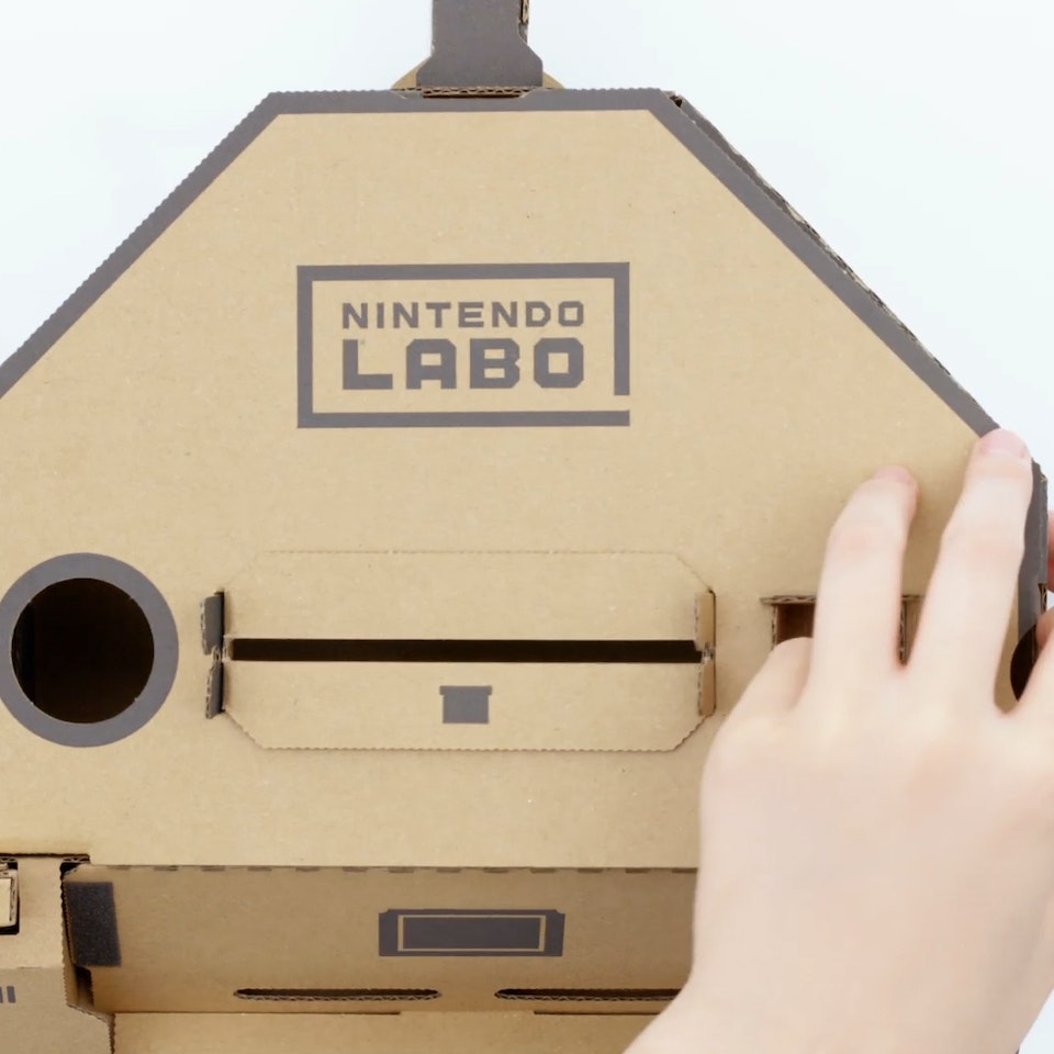 YUJI HARIU - First Look at Nintendo Labo