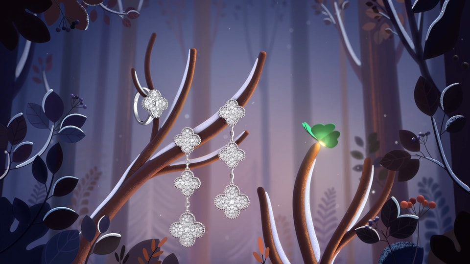 "Van Cleef & Arpels ""Alhambra Winter"" (Collaboration) - Van Cleef & Arpels ""Alhambra Winter"""