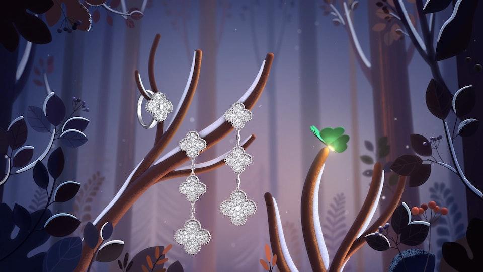 "Van Cleef & Arpels ""Alhambra Winter"" (Collaboration) - Van Cleef & Arpels ""Alhambra Winter"""