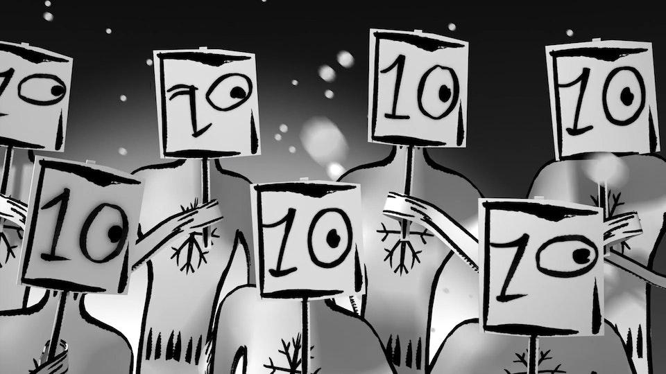 "La Petite Robe Noire ""Christmas"" (CGI Supervision)"