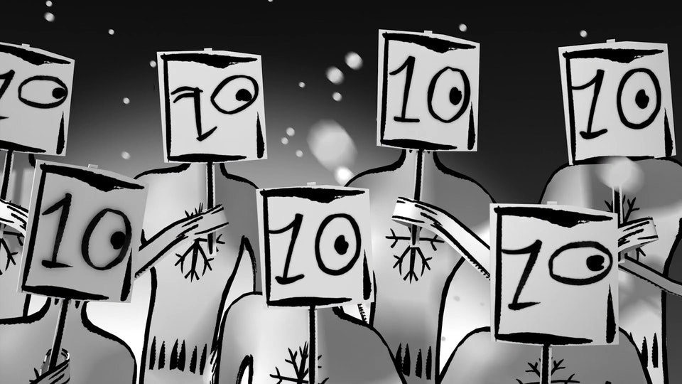"La Petite Robe Noire ""Christmas"" (CGI Supervision) - La Petite Robe Noire ""Christmas"""
