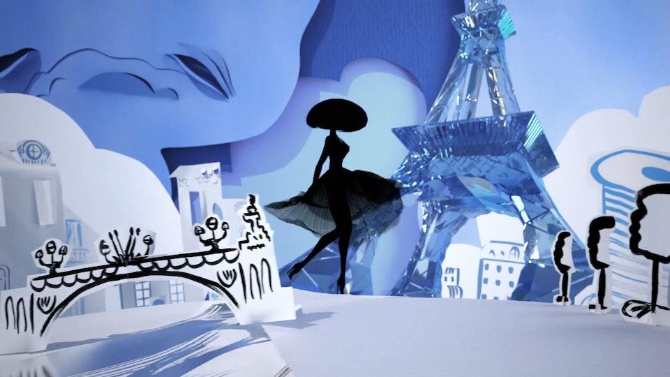 """La Petite Robe Noire """"Eau de Parfum"""" (CGI Supervision) - La Petite Robe Noire """"Eau de Parfum"""""""