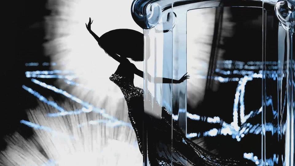 """La Petite Robe Noire """"Blue Ride In Paris"""" (CG Supervision) - La Petite Robe Noire """"Blue Ride In Paris"""""""