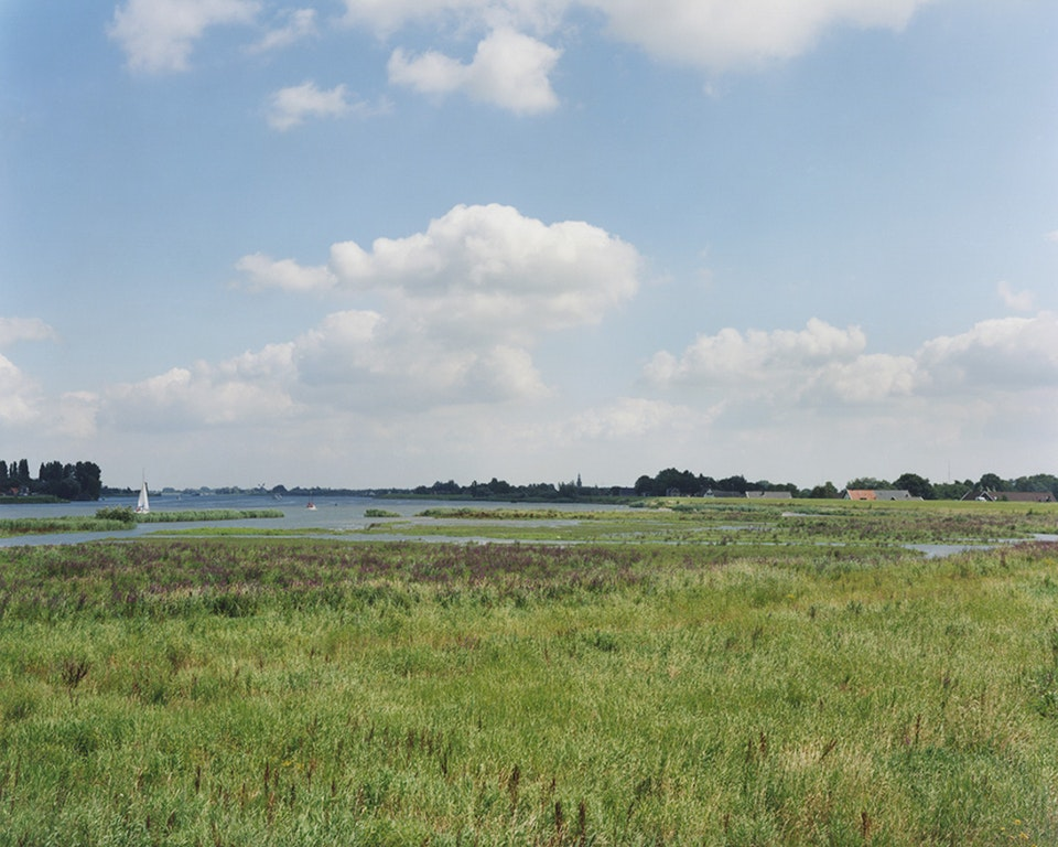 Anthropocène - Paysage hollandais - Vers Zierikzee, 2007 (48x60cm)