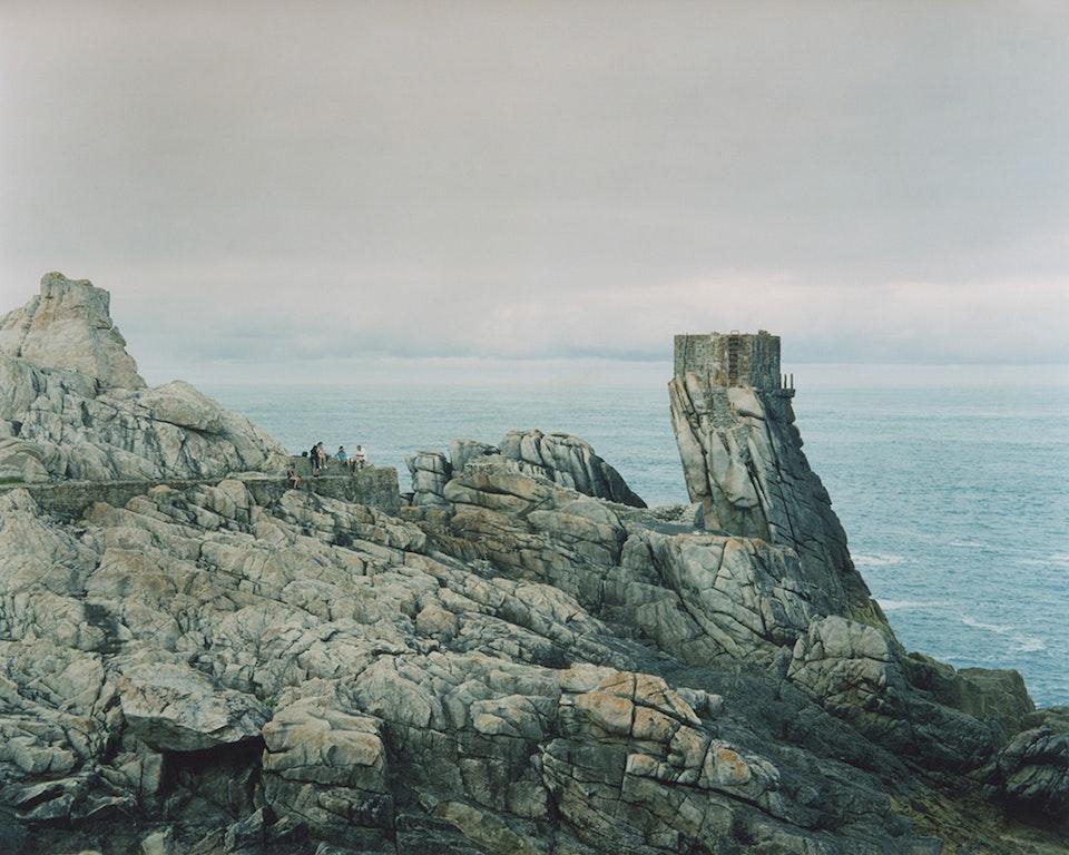 Anthropocène - Pique-nique à Ouessant, 2014 (65x81cm)