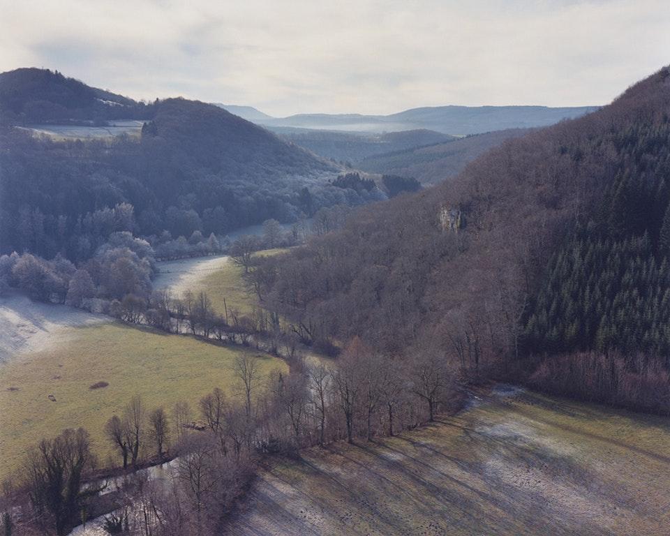 Hors temps - Paysage jurassien - La Vallée du Lison, 2010 (100x125cm)