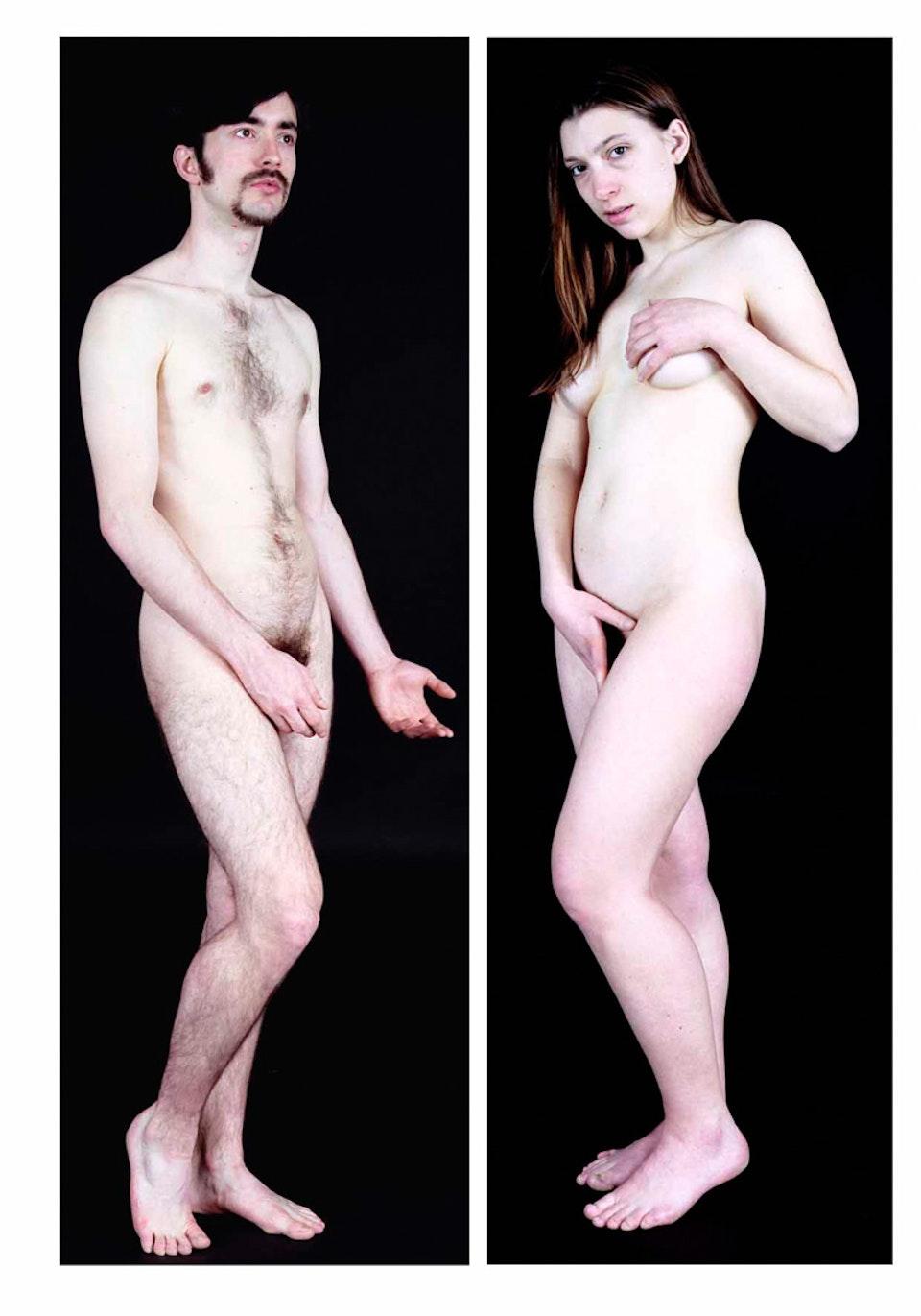 Archétype - Adam et Eve, 2004 (150x75cm)