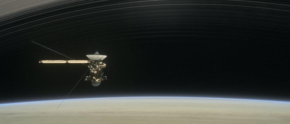 HORIZON: Goodbye Cassini, Hello Saturn (BBC2) - CASSINI 1 intro