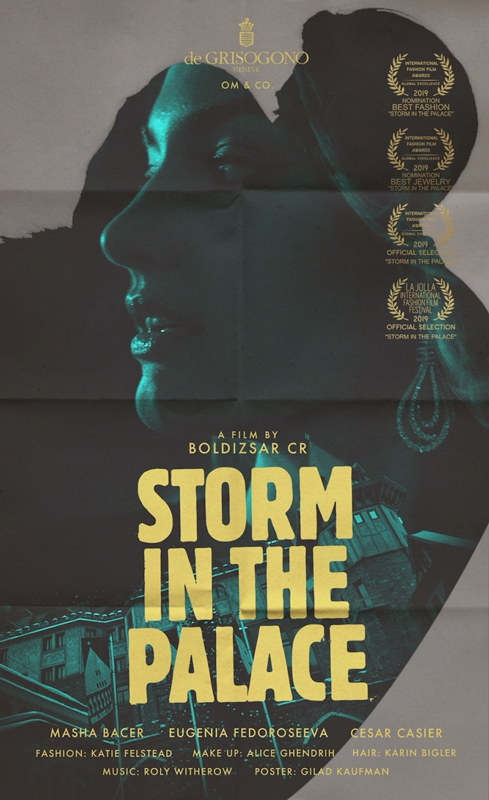 """""""Storm in the Palace"""" for de GRISOGONO"""