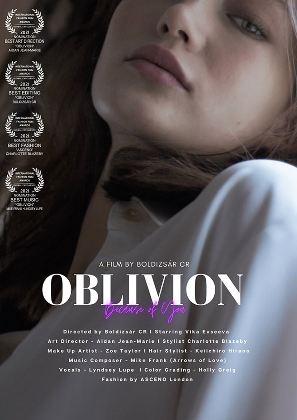 Oblivion (Because of You) - Fashion Film