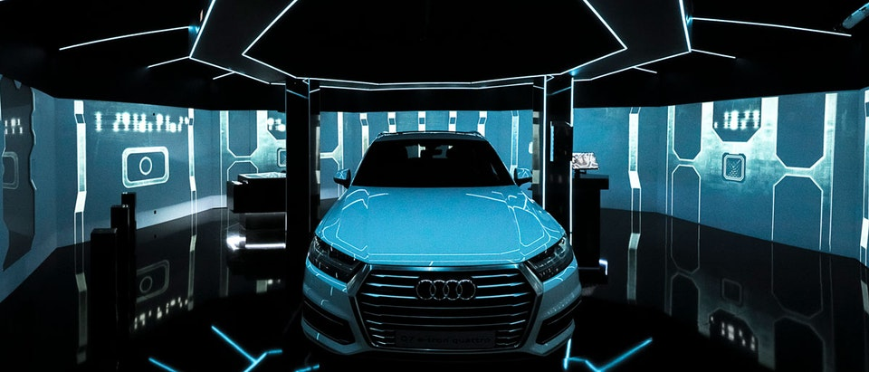AUDI E-TRON escape room