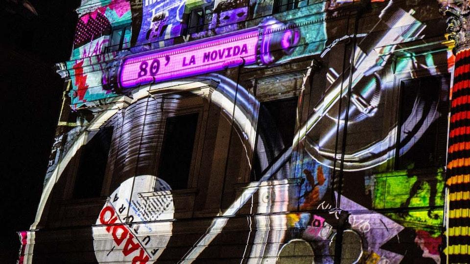 Mapping Congreso de los Diputados de Madrid