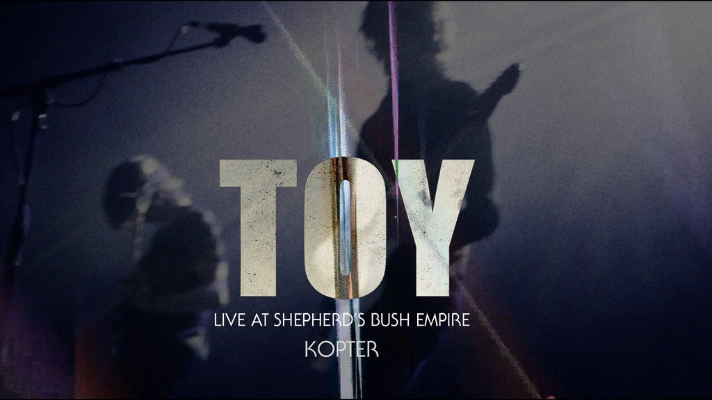 TOY Shepherd's Bush Empire gig 2014 concert
