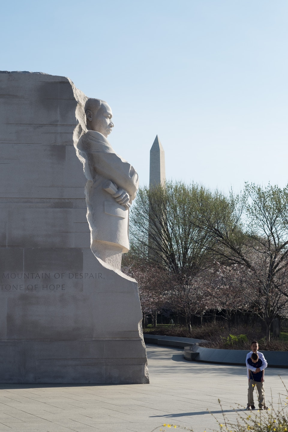 The Tidal Basin, March 2020 -