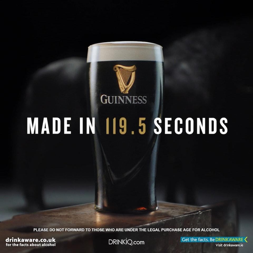 Guinness - Made In 119.5 Seconds Guinness - Made In 119.5 Seconds FARRIER