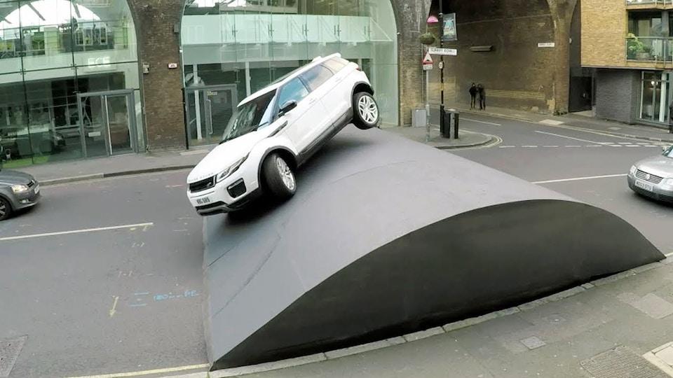 Range Rover Evoque 'Speed Bump'